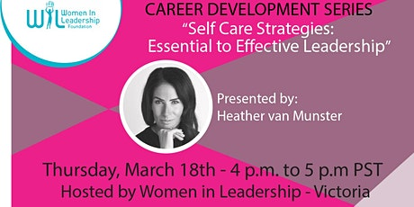 Career Development Series: Self Care Strategies tickets