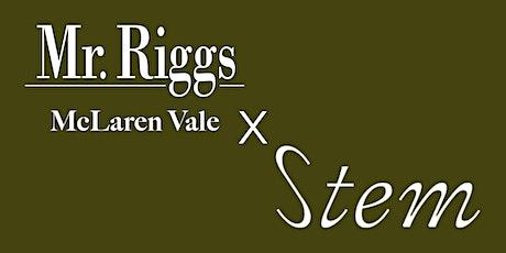 Mr. Riggs x Stem Wine Dinner tickets