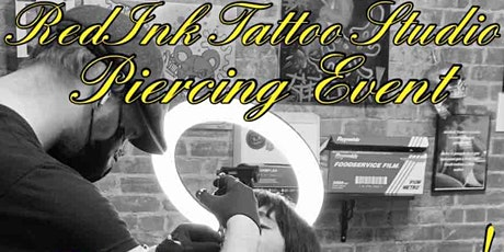 FLASH $20 & UP PIERCING EVENT TUESDAY MARCH 9TH 12PM-12AM tickets