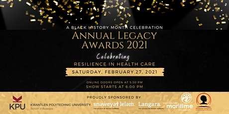 Annual Legacy Awards 2021: Celebrating Resilience in Health Care tickets