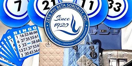 Zeta Phi Beta Sorority, Inc., BAZ Chapter Presents: Virtual BINGO For Bags tickets