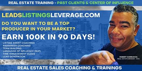 Free Real Estate Training for Realtors - Your Past Clients & Friends tickets