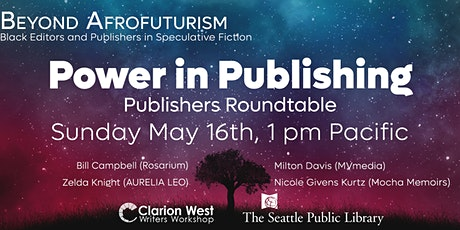 Power in Publishing: Publishers Roundtable tickets