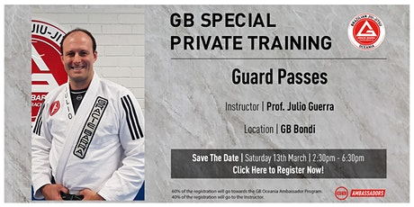 GB Special Private Training At GB Bondi tickets