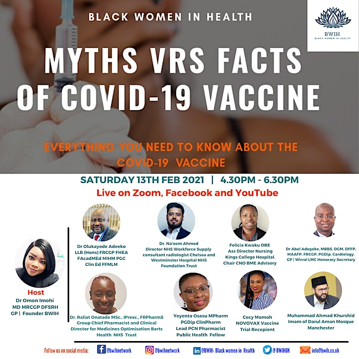 COVID19 Vaccine Myths Vrs Facts image