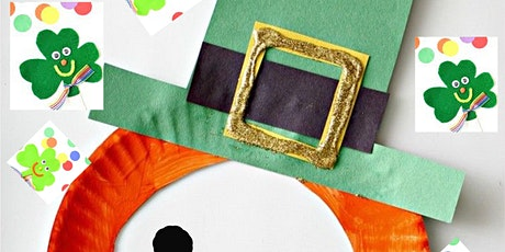 Online Art Class, St. Patrick's, Making Leprechaun, All ages are welcome tickets