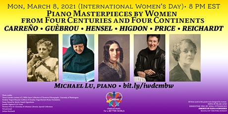 CMBW International Women's Day Mini-Concert Q&A Session tickets