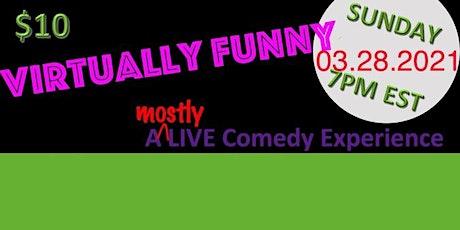 Virtually Funny: CHUCKS & PEARLS... A Comedy Experience tickets