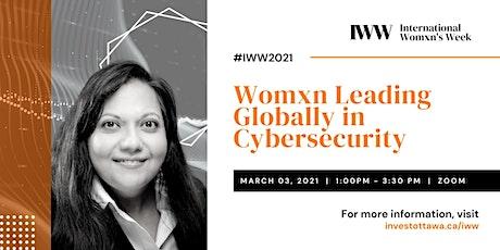 Womxn Leading Globally in Cybersecurity entradas