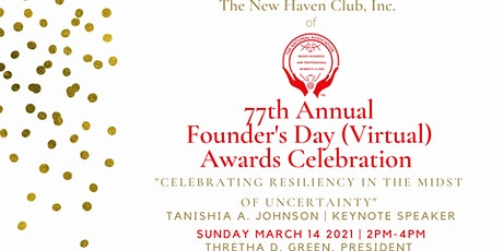 77th Annual Founder's Day Virtual Awards Celebration tickets