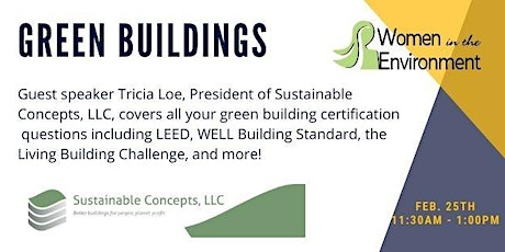Network & Learn: Green Buildings with Tricia Loe tickets