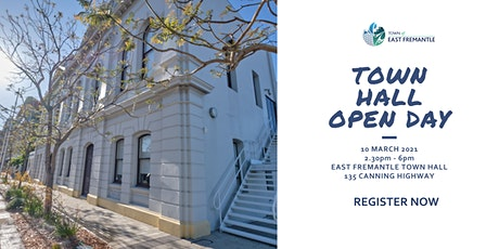Town Hall Open Day tickets