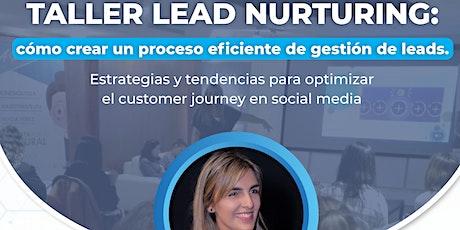 TALLER LEAD NURTURING: cómo crear un proceso eficiente de gestión de leads? entradas