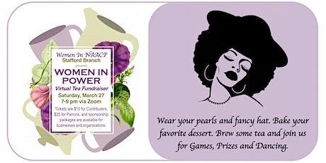 Women In Power Virtual Tea Fundraiser tickets