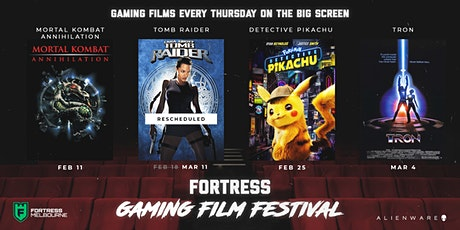 Gaming Film Festival - Lara Croft: Tomb Raider tickets
