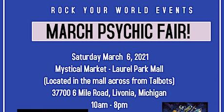 Psychic Fair At Laurel Park Mall - Mystical Market! tickets
