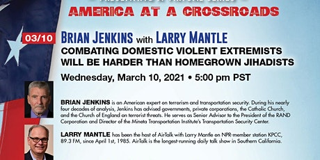 Brian Jenkins & Javed Ali on Combating Domestic Violent Extremists w/Mantle biglietti