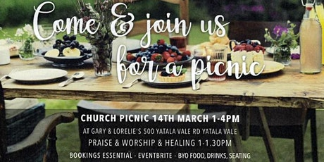 Hope Central Combined Church Picnic March 14th 2021 tickets