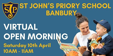 St John's Priory School Virtual Open Morning tickets