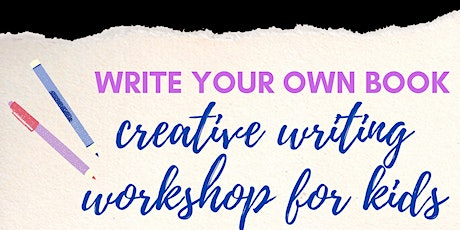 Write your own book: creative writing workshop for kids tickets