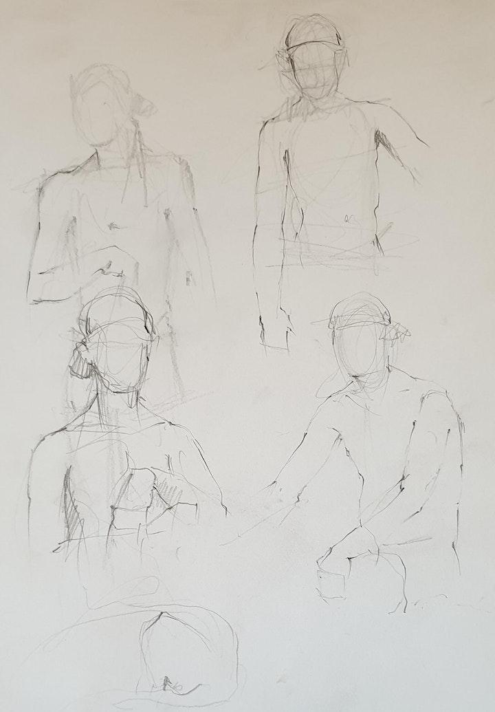Life Drawing Fundamentals (Beginners) with Laretta Goodacre (rescheduled) image