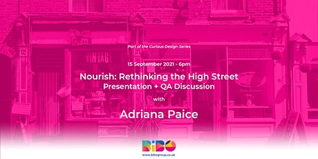 Nourish: Rethinking the High Street tickets