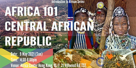 Africa 101 | Central African Republic tickets
