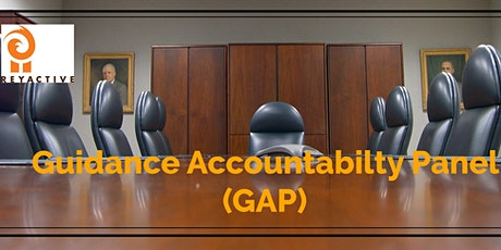 Guidance Accountability Panel tickets