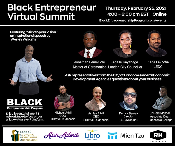<br /> 		Black Entrepreneur Virtual Summit image<br />