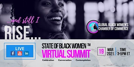 GBWCC presents The State of Black Women Virtual Summit II tickets