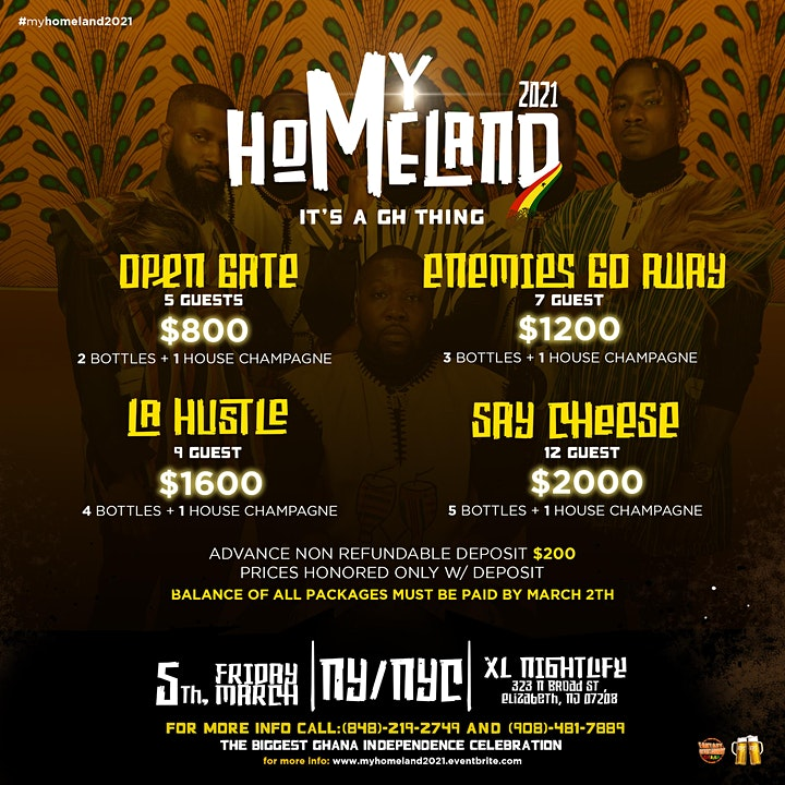 MY HOMELAND GHANA 2021 WEEKEND ~ KUAMI EUGENE X JUPITAR X G4 BOYZ image