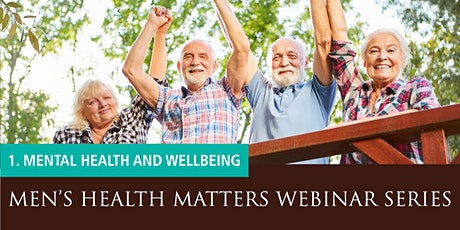 Men's Health Matters Webinar - Mental health and wellbeing tickets