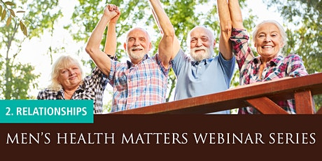 Men's Health Matters Webinar - Relationships tickets