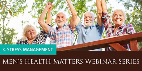 Men's Health Matters Webinar - Stress management tickets
