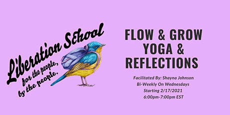Flow & Grow - Yoga & Reflections tickets