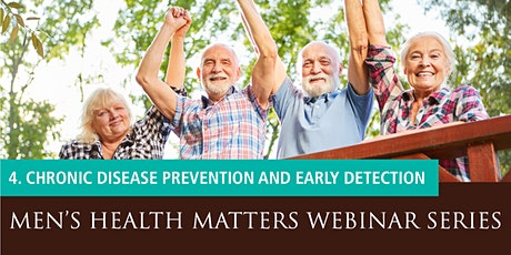 Men's Health Matters Webinar - Chronic disease prevention & early detection tickets