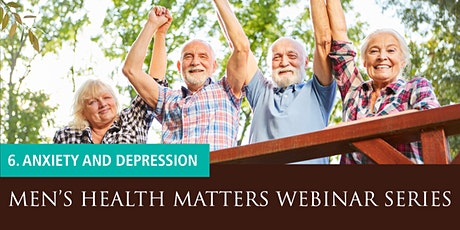 Men's Health Matters Webinar - Anxiety and depression tickets