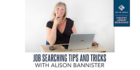 Job Searching Tips and Tricks with Alison Bannister tickets