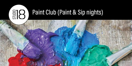 Paint Club (Paint and Sip) Nights tickets