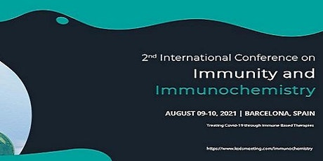 2nd International Conference on Immunity and Immunochemistry tickets