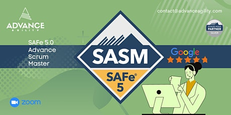 SAFe Advanced Scrum Master (Online/Zoom) May 24-25, Mon-Tue, Chicago (CDT) tickets