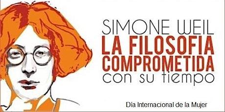 Simone Weil: la Filosofía comprometida con su tiempo entradas