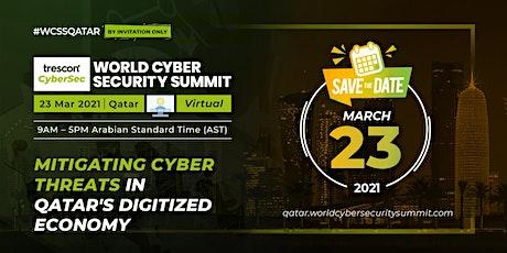 World Cyber Security Summit - Qatar tickets
