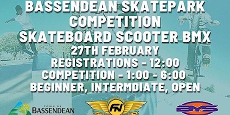 2021 Bassendean skatepark competition tickets