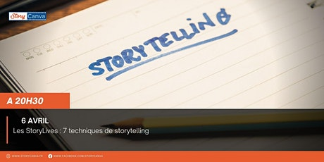 StoryLive #13 : 7 techniques de storytelling tickets