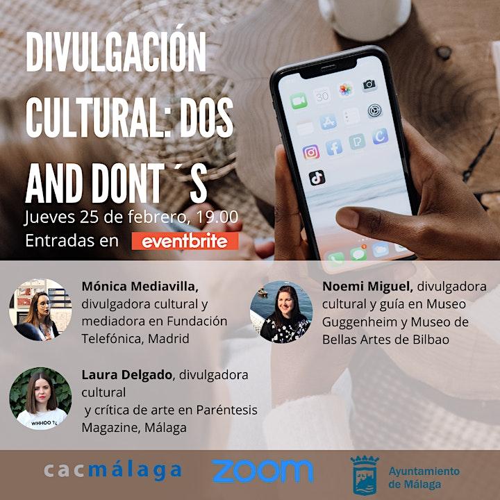Imagen de Coloquio Divulgación Cultural: los Dos and Dont´s