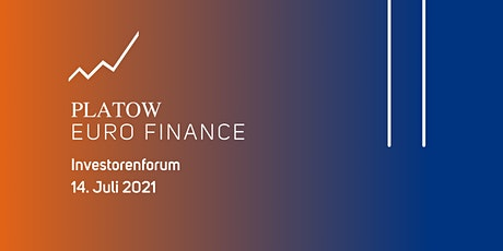 PLATOW EURO FINANCE Investorenforum tickets