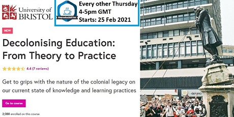 Decolonising Education study group tickets