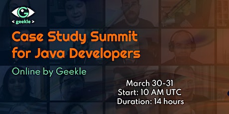 Case Study Summit for Java Developers tickets