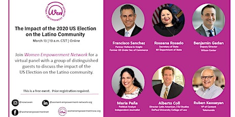 THE IMPACT OF THE 2020 US ELECTION ON THE LATINO COMMUNITY tickets